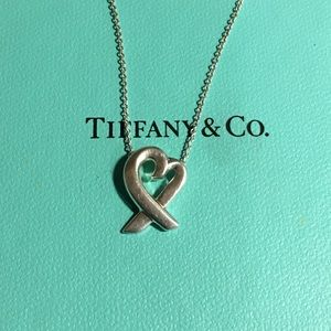 Tiffany & Co Picasso loving heart necklace